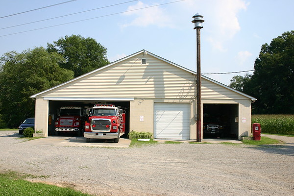 Sparta, Virginia - Caroline County Station 4.  Photographed in 2008.