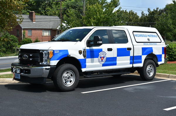 Virginia Department of Emergency Management - HAZMAT - Special Operations - Ford F350.