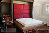 Murphy bed style: RED LEATHER