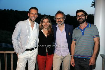 Gregoire Vogelsang, Cathy Bombard, Yann Bombard, Antonio Capelao
