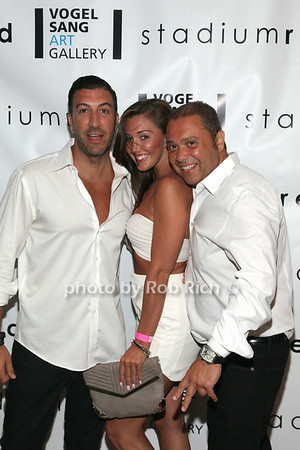 Johnny Shabe, Patrice Schwab, Joe Franco