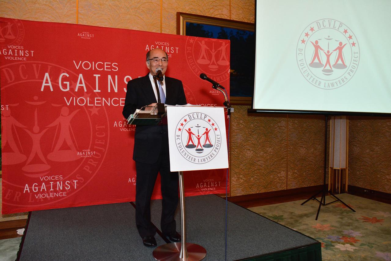 Ambassador Kenichiro Sasae