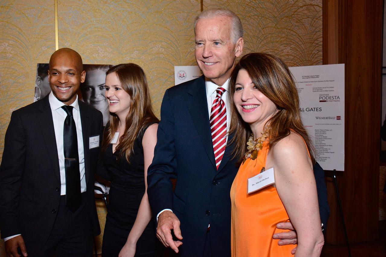 Joe Biden; Dr. Maral Skelsey