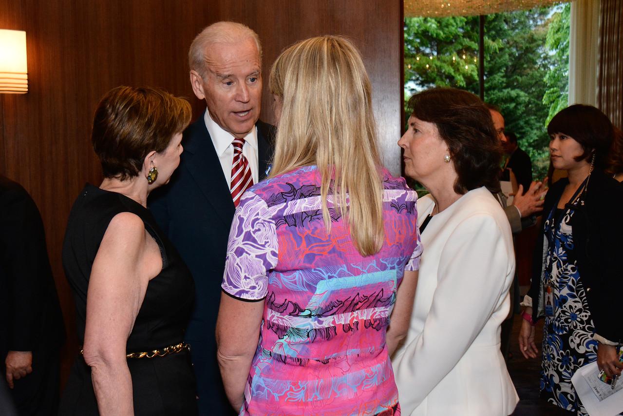 Adrienne Arsht; Joe Biden; Karen Marcou; Jenny Brody