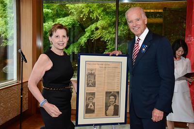 Adrienne Arsht; Joe Biden