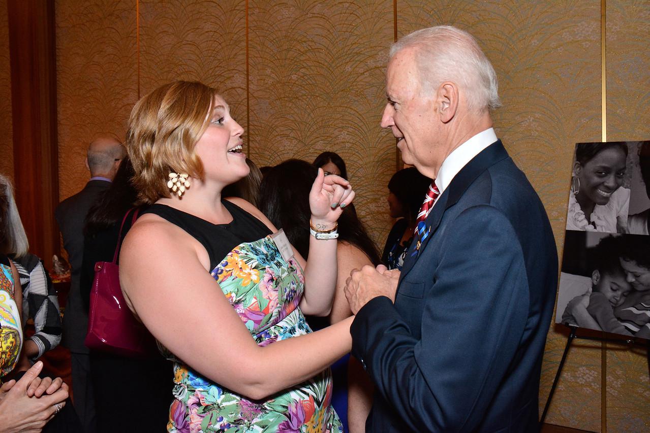 Ashley Badgley; Joe Biden