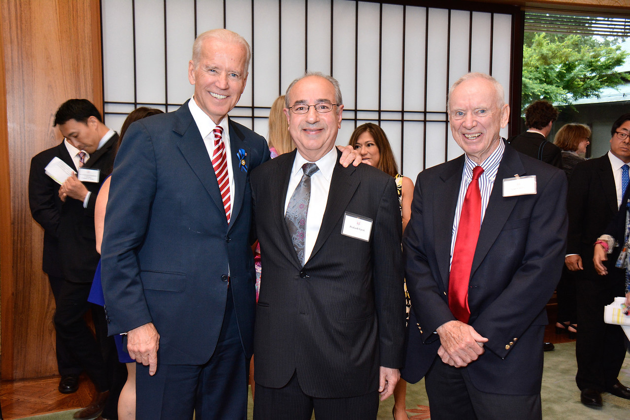 Joe Biden; Prakash Gavri; Guy Chance