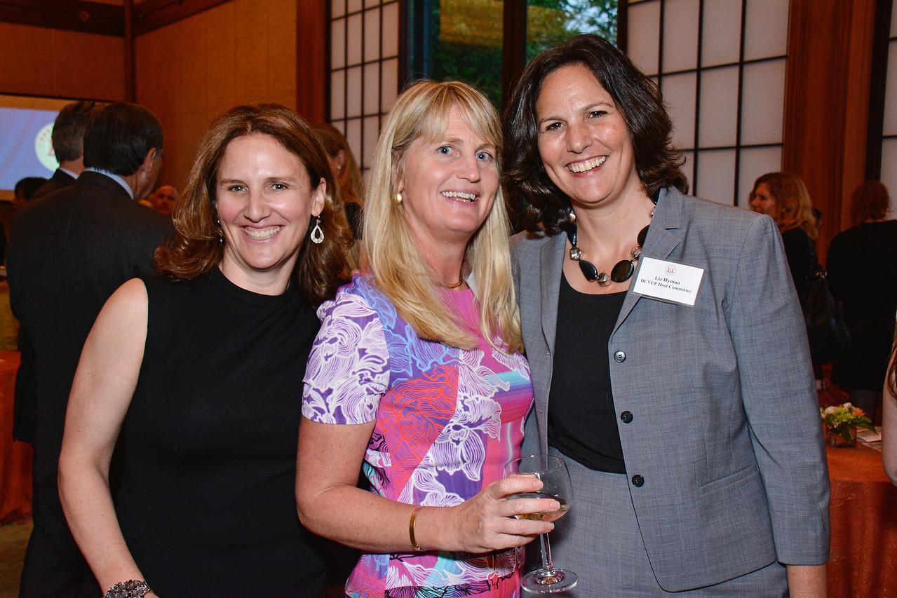 Sarah Morgenthau; Karen Marcou; Liz Hyman