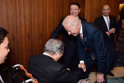 Osamu Fujimura; Joe Biden; Ambassador Kenchiro Sasae