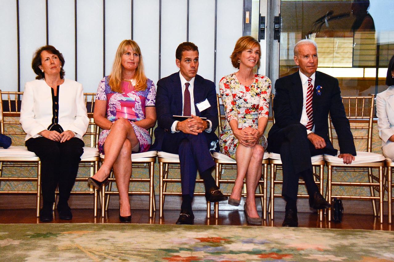 Jenny Brody; Karen Marcou; Hunter Biden; Kathleen Biden; Joe Biden