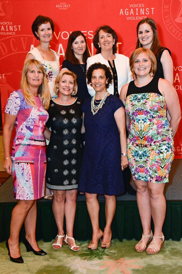 Erin Larkin; Stephanie Wege; Jenny Brody; Emily Petrino; Karen Marcou; Karen Bates; Claudia Gwilliam; Ashley Badgley