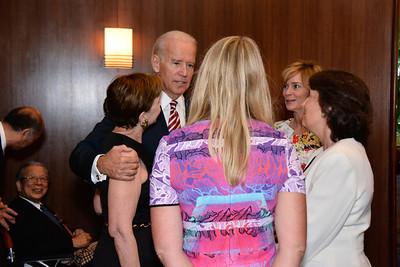 Adrienne Arsht; Joe Biden; Karen Marcou; Kathleen Biden; Jenny Brody