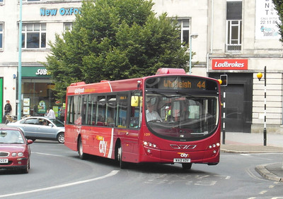 109 - WA12ADV - Plymouth (Derry's Cross) - 29.7.13