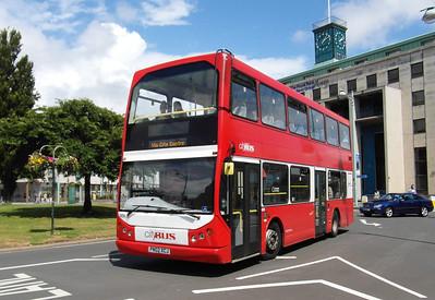 406 - PN02XCJ - Plymouth (St Andrew's Cross) - 29.7.13
