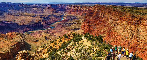 GRAND CANYON DESERT VIEW, ARIZONA