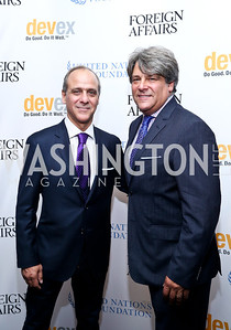 Lawrence Behar and Alan Behar. Photo by Tony Powell. WHC The Global Beat. 1750 Penn. May 1, 2014