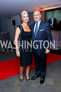 Gigi and Shafik Gabr. Photo by Tony Powell. WHC The Global Beat. 1750 Penn. May 1, 2014