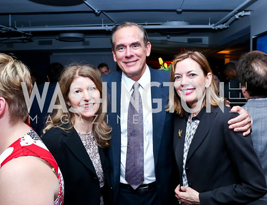 Mary Toman, David Short, Marie Royce. Photo by Tony Powell. WHC The Global Beat. 1750 Penn. May 1, 2014