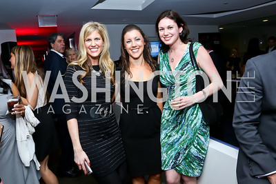 Lisa Ellman, Sarah Fenn, Alexis Weiss. Photo by Tony Powell. WHC The Global Beat. 1750 Penn. May 1, 2014