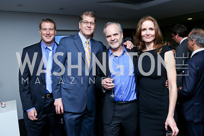 Daniel Erikson, Steve Clemons, Michael Hirsh, Lisa Shields. Photo by Tony Powell. WHC The Global Beat. 1750 Penn. May 1, 2014