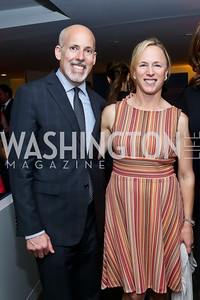 Douglas and Liz Smith. Photo by Tony Powell. WHC The Global Beat. 1750 Penn. May 1, 2014
