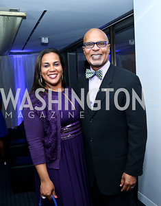 Monique and Luis McSween. Photo by Tony Powell. WHC The Global Beat. 1750 Penn. May 1, 2014
