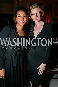Brandie Maxwell, Tabatha Fairclough. Photo by Alfredo Flores. WOLA Human Rights Awards Gala. Union Station. November 12, 2014