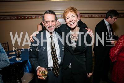 David Neigus, Meg Roggensack ,. Photo by Alfredo Flores. WOLA Human Rights Awards Gala. Union Station