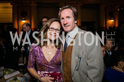 Jamie Holland, Edward Hull. Photo by Alfredo Flores. WOLA Human Rights Awards Gala. Union Station-3.CR2