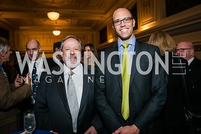 Ambassador Francisco Altschul, Mark Lopes. Photo by Alfredo Flores. WOLA Human Rights Awards Gala. Union Station.CR2