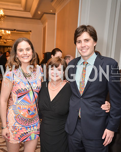 Greg Myers, Diane O'Toole, Megan O'Toole, Washington Tennis & Education Foundation (WTEF) hosts the Tennis Ball at the Ritz Carlton.  Friday, May 9th, 2014.  Photo by Ben Droz