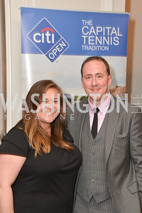 Keely O'Brien, Michael Aiken, Washington Tennis & Education Foundation (WTEF) hosts the Tennis Ball at the Ritz Carlton.  Friday, May 9th, 2014.  Photo by Ben Droz