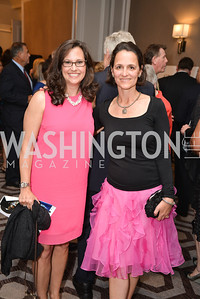 Laura Porterfield, Marie Woodall, Washington Tennis & Education Foundation (WTEF) hosts the Tennis Ball at the Ritz Carlton.  Friday, May 9th, 2014.  Photo by Ben Droz