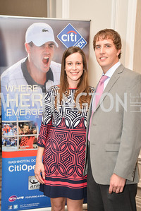 Caroline Page, Braxton Richardson, Washington Tennis & Education Foundation (WTEF) hosts the Tennis Ball at the Ritz Carlton.  Friday, May 9th, 2014.  Photo by Ben Droz