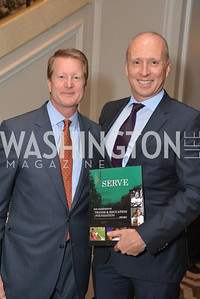 Henry Fonvielle, Bernard Moens, Washington Tennis & Education Foundation (WTEF) hosts the Tennis Ball at the Ritz Carlton.  Friday, May 9th, 2014.  Photo by Ben Droz