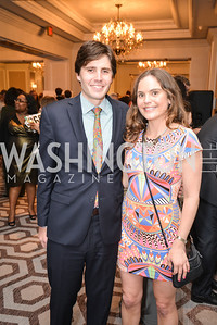 Greg Myers, Megan O'Toole, Washington Tennis & Education Foundation (WTEF) hosts the Tennis Ball at the Ritz Carlton.  Friday, May 9th, 2014.  Photo by Ben Droz