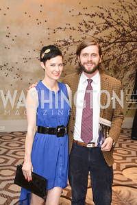 Emily Hazzard, Ryne Hazzard, Washington Tennis & Education Foundation (WTEF) hosts the Tennis Ball at the Ritz Carlton.  Friday, May 9th, 2014.  Photo by Ben Droz