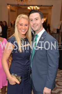 Alexa Lazerow, Christopher Weiner, Washington Tennis & Education Foundation (WTEF) hosts the Tennis Ball at the Ritz Carlton.  Friday, May 9th, 2014.  Photo by Ben Droz