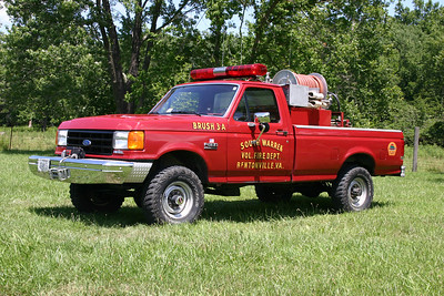 Brush 3-1 also runs from the substation, it is a 1988 Ford F-350/Slagles, 150/250.