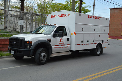 The Axalta (formerly DuPont) plant in Front Royal, Virginia, has an on-site hazardous mitigation brigade that responds in this 2008 Ford F-450/Omaha.