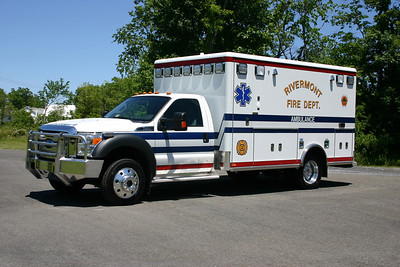 Ambulance 2 is this 2012 Ford-F450 4x4/Horton.