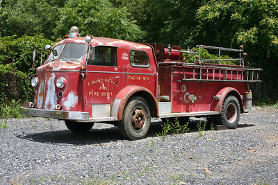 Front Royal's former 1954 American LaFrance, sn-L5064 was purchased several years ago by a group of collectors.  Plans are to restore the truck.