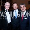 David Bradley, Russ Ramsey, Ted Leonsis. Photo by Tony Powell. Washington 2024 Olympic Bid Reception. Inst. of Peace. November 19, 2014