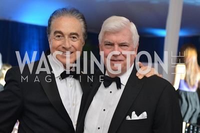 Bruce Lipnick, Senator Chris Dodd, The Washington Ballet Jazz Ball at the Duke Ellington School of the Arts, May 16, 2014, Photo by Ben Droz