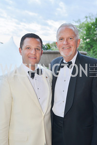 Greg Lubor, Jack Davies,  The Washington Ballet Jazz Ball at the Duke Ellington School of the Arts, May 16, 2014, Photo by Ben Droz