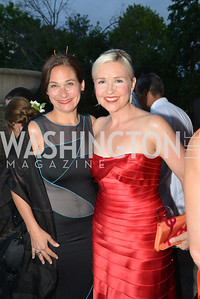 Ilyse Hogue, Kate Damon,  The Washington Ballet Jazz Ball at the Duke Ellington School of the Arts, May 16, 2014, Photo by Ben Droz