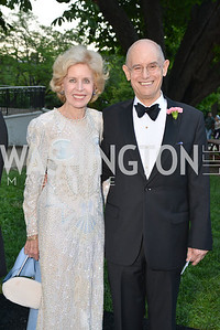 Ann Nitze, Bill Nitze,  The Washington Ballet Jazz Ball at the Duke Ellington School of the Arts, May 16, 2014, Photo by Ben Droz