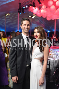 Jonathan Ericksen, Keteryna Derechyna,  The Washington Ballet Jazz Ball at the Duke Ellington School of the Arts, May 16, 2014, Photo by Ben Droz