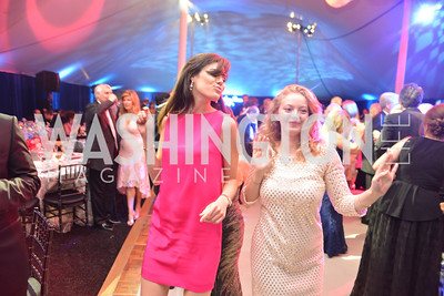 Alyse Cohen, Mia Ferrara, The Washington Ballet Jazz Ball at the Duke Ellington School of the Arts, May 16, 2014, Photo by Ben Droz