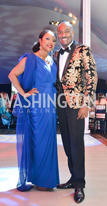 Lynn Whitfield, Reginald Van Lee, The Washington Ballet Jazz Ball at the Duke Ellington School of the Arts, May 16, 2014, Photo by Ben Droz